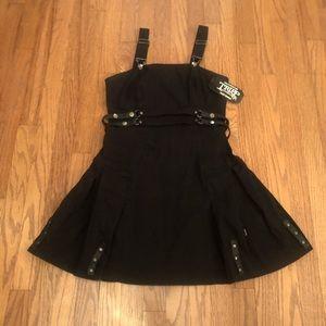 TRIPP NYC Black Overall Dress SZ MD